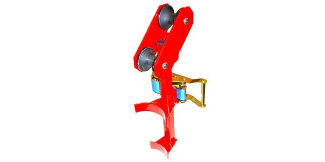 Manhole Tools - Sheaves and Quadrants for pulling fiber optic cable