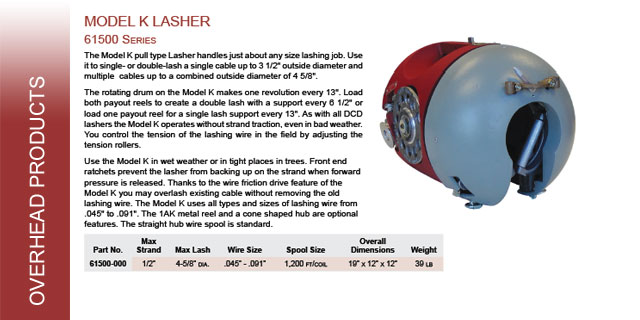 cable lashers
